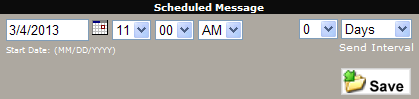 Scheduled Messages